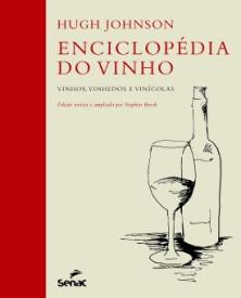 """Capa do livro """"Enciclopédia do Vinho""""."""
