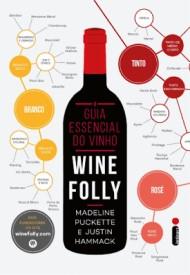 """Capa do livro """"O Guia Essencial do Vinho""""."""