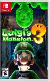 Capa do jogo Luigi's Mansion 3.