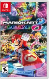 Capa do jogo Mario Kart 8 Deluxe.
