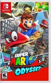 Capa do jogo Super Mario Odyssey.