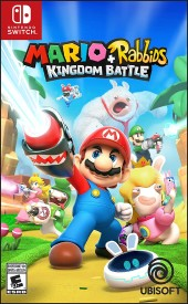 Capa do jogo Mario + Rabbids: Kingdom Battle.