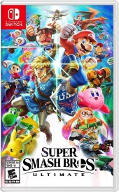Capa do jogo Super Smash Bros Ultimate.
