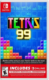 Capa do jogo Tetris 99.