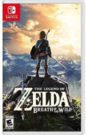 Capa do jogo The Legend of Zelda: Breath of the Wild.
