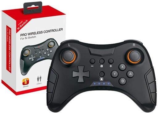 Controle Sem Fio Nintendo Switch Pro Wireless Dualshock Dobe TNS-1724.