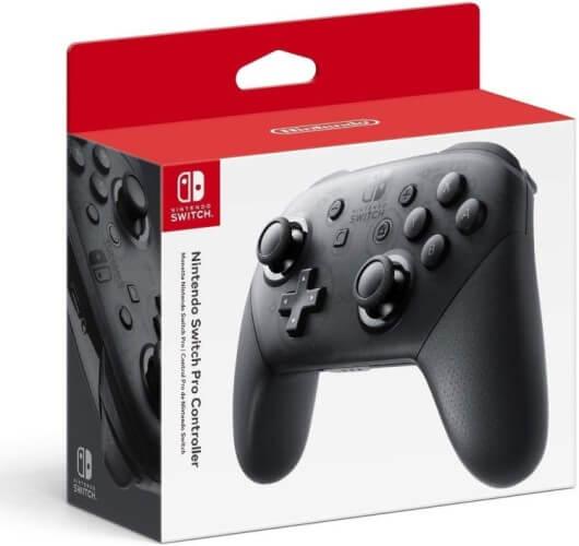 Caixa do Nintendo Switch Pro Controller.