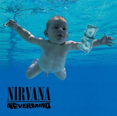Capa do disco Nevermind.
