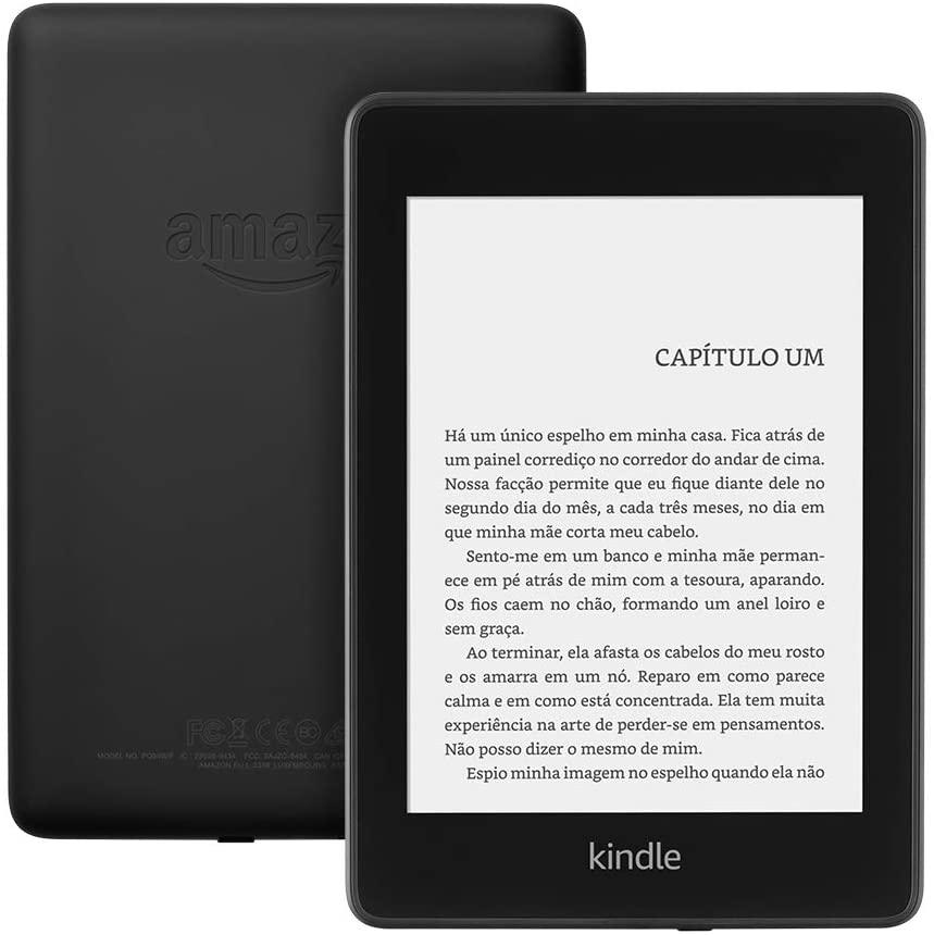 Qual Kindle comprar: kindle paperwhite