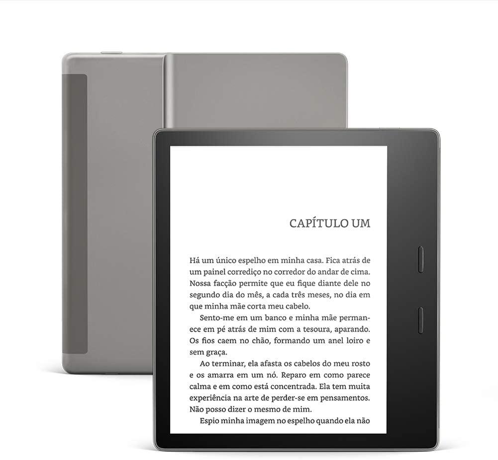 Qual Kindle comprar: Kindle Oasis