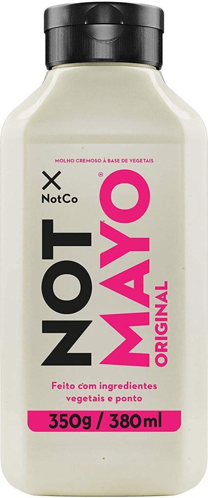 Maionese vegana vegetal Not Mayo Original