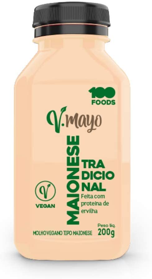 Maionese Vegana V-Mayo Tradicional