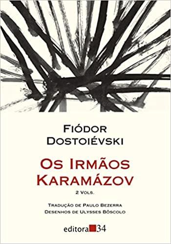 Capa do livro Os Irmãos Karamázov.