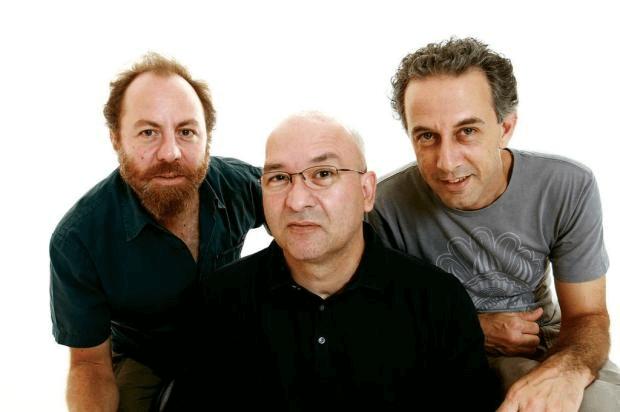 Integrantes da banda Os Paralamas do Sucesso