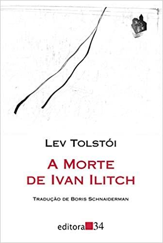 Capa do livro A Morte Ivan Ilitch.