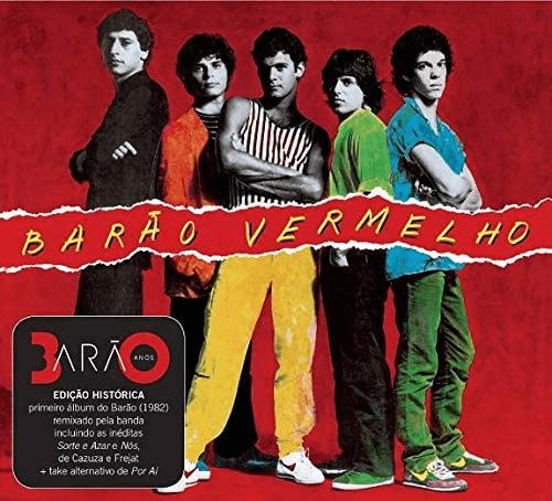 Capa do álbum Barão Vermelho da banda Barão Vermelho