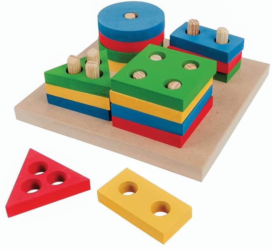 Brinquedos pedagógicos - prancha de seleção