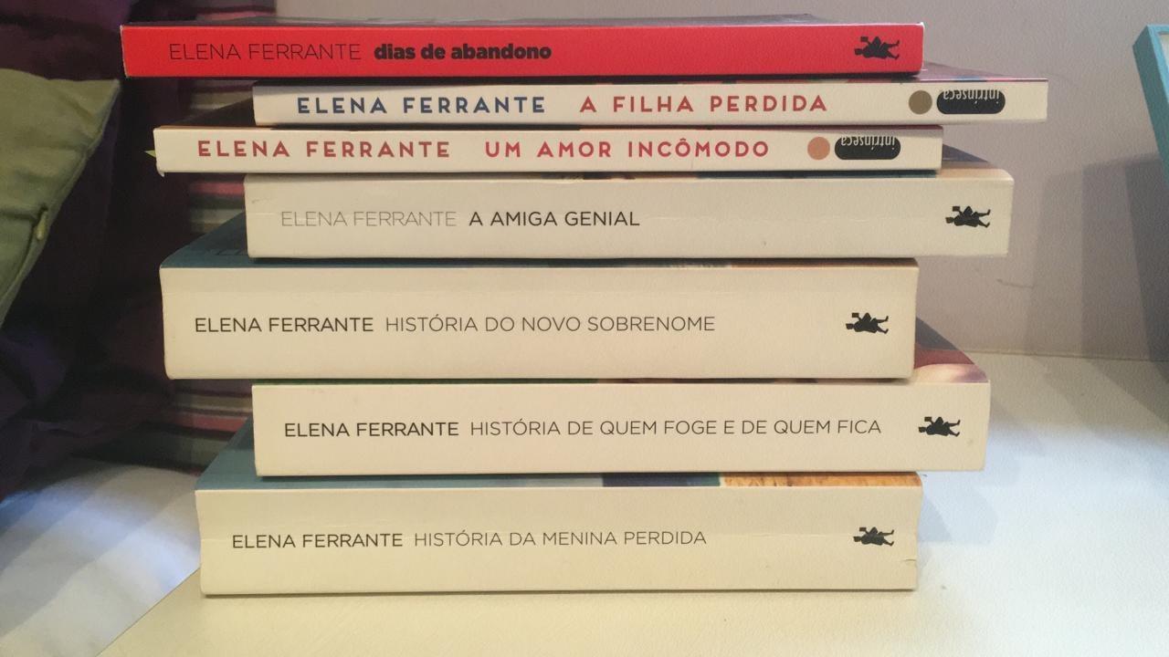 Elena Ferrante Livros