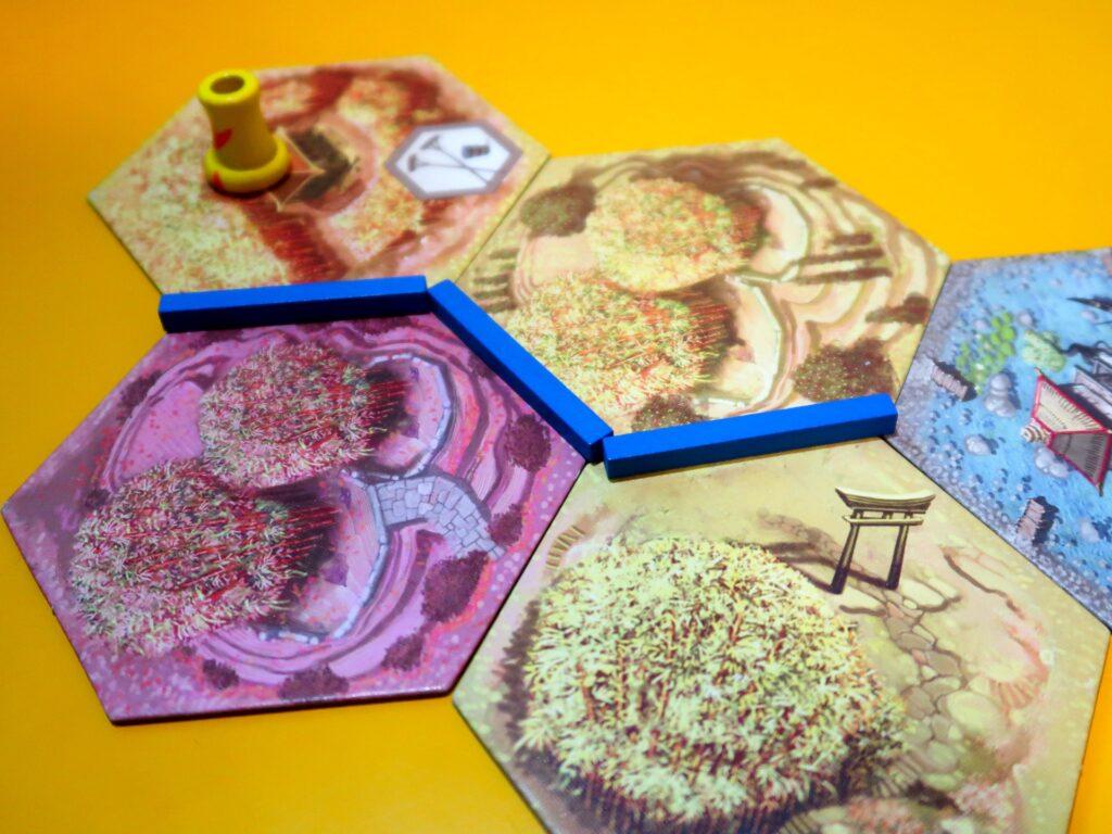 Takenoko jogo: irrigadores