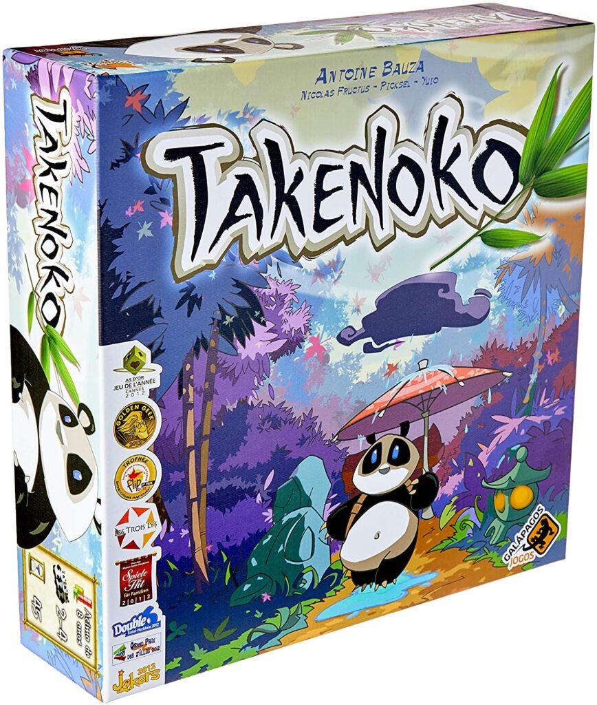 Takenoko jogo: caixa