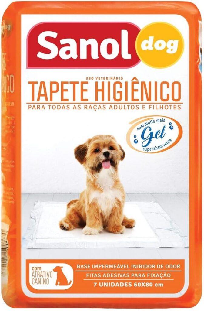 Tapete higiênico Sanol.