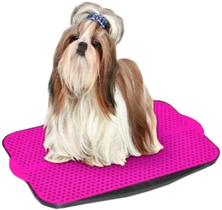 Tapetes higiênicos para pets rosa.