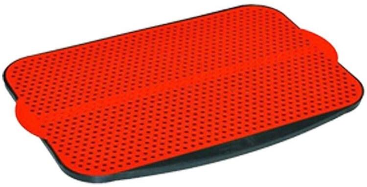 Tapete higiênico reutilizável vermelho