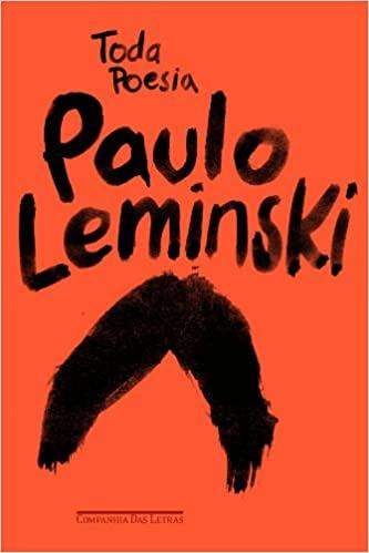 Capa do livro Toda Poesia, de Paulo Leminski.