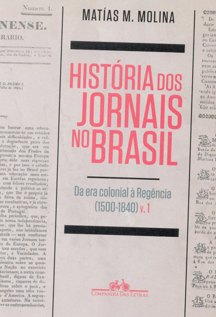 Capa do livro História dos Jornais no Brasil.