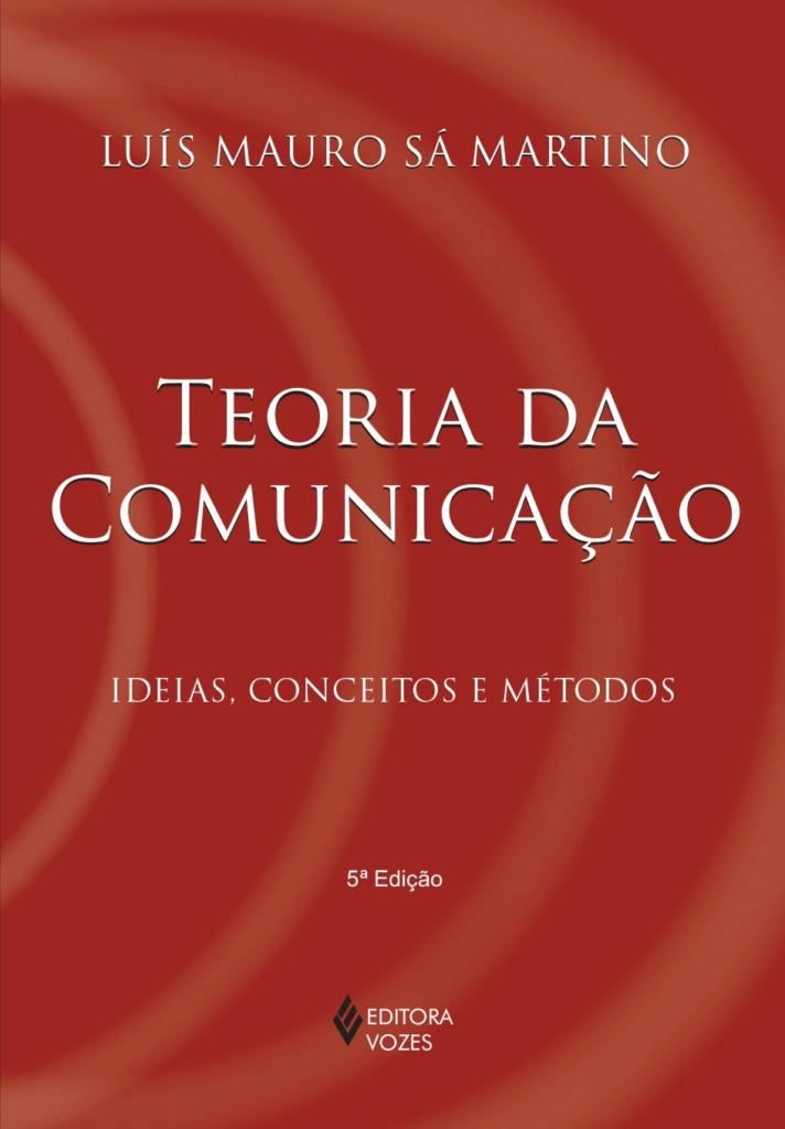 Capa do livro Teoria da Comunicação.