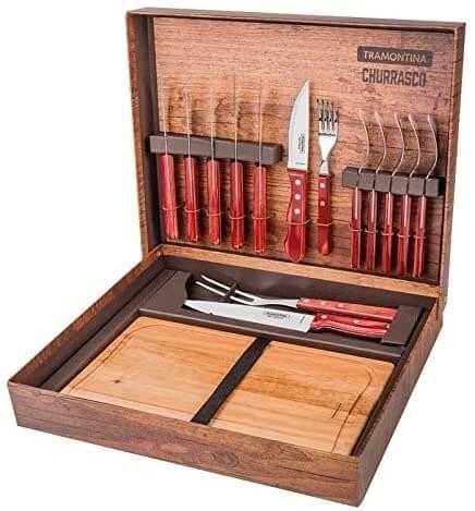 Kit para churrasco com 15 peças - Tramontina