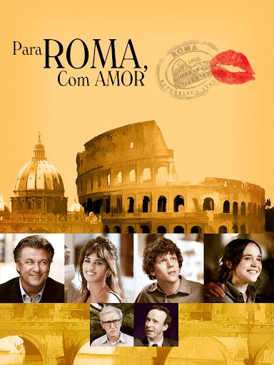 Capa do filme Para Roma, Com Amor.