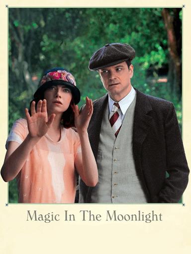 Capa do filme Magia ao Luar.