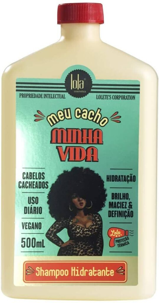 """Shampoo """"Meu cacho, minha vida"""" da Lola Cosméticos"""