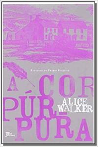 Capa do livro A Cor Púrpura.