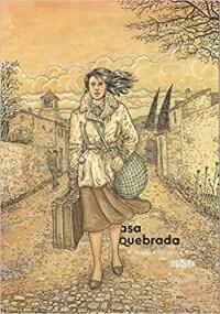 Capa do livro Asa Quebrada (HQ).