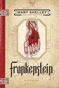 Capa do livro Frankenstein.