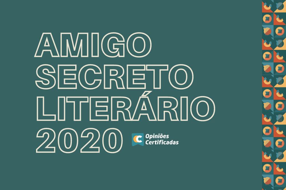 Capa Do Post Do Amigo Secreto Literário De 2020.