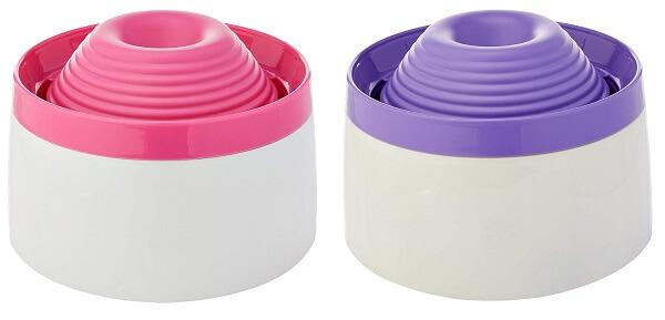 fonte para gato beber água puripet nas cores rosa e lilás