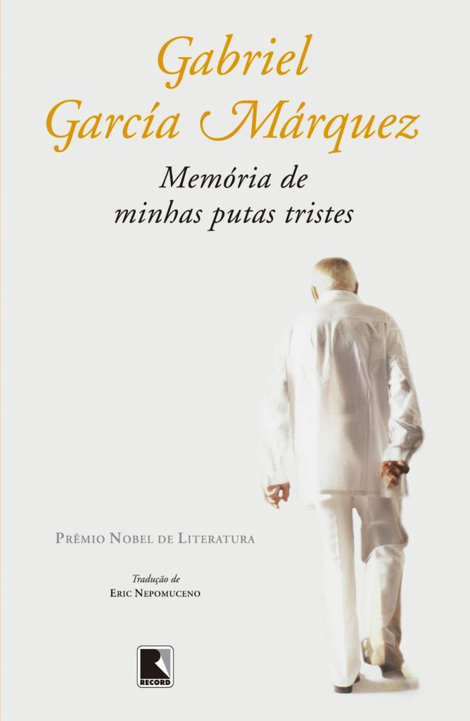 Capa do Livro de Gabriel García Márquez, Memória de Minhas Putas Tristes.