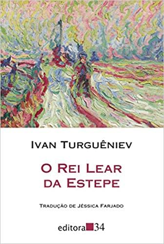 Livro O Rei Lear da Estepe.