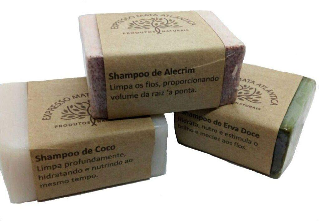 Marcha de shampoo vegano Expresso Mata Atlântica