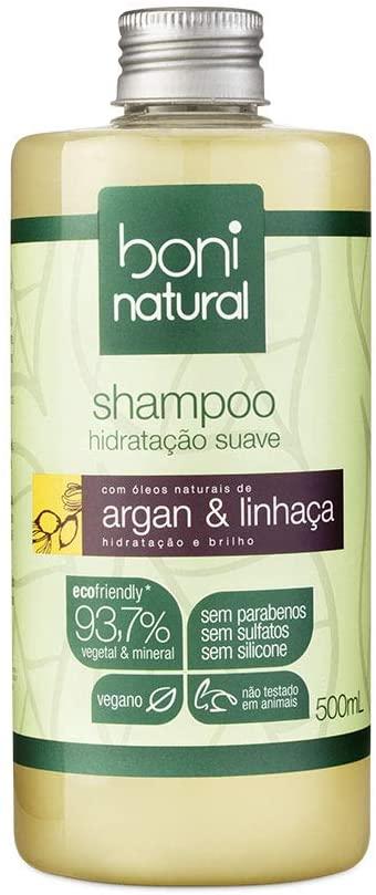 Marca de shampoo vegano Boni Natural