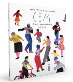 Capa do livro Cem: o que aprendemos na vida.