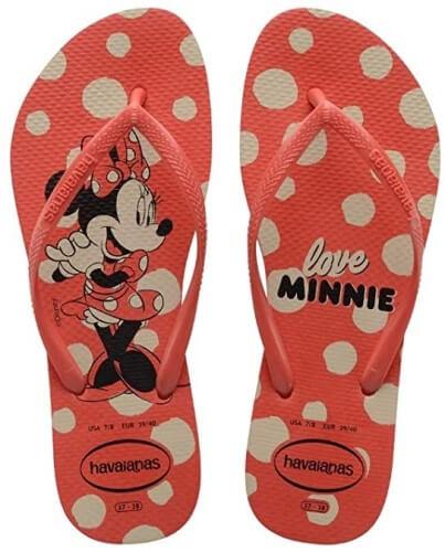 Havaianas da Minnie.