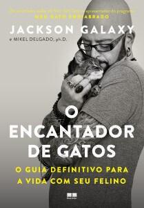 Capa do livro O encantador de gatos.