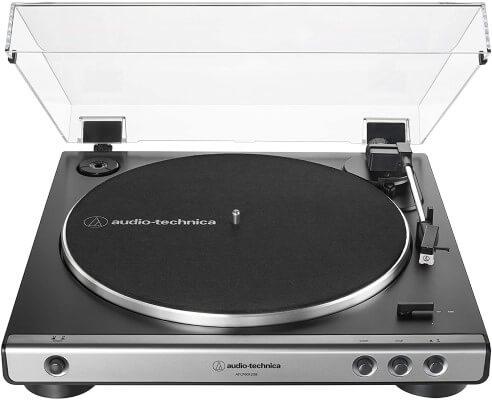Toca-discos audio-technica.