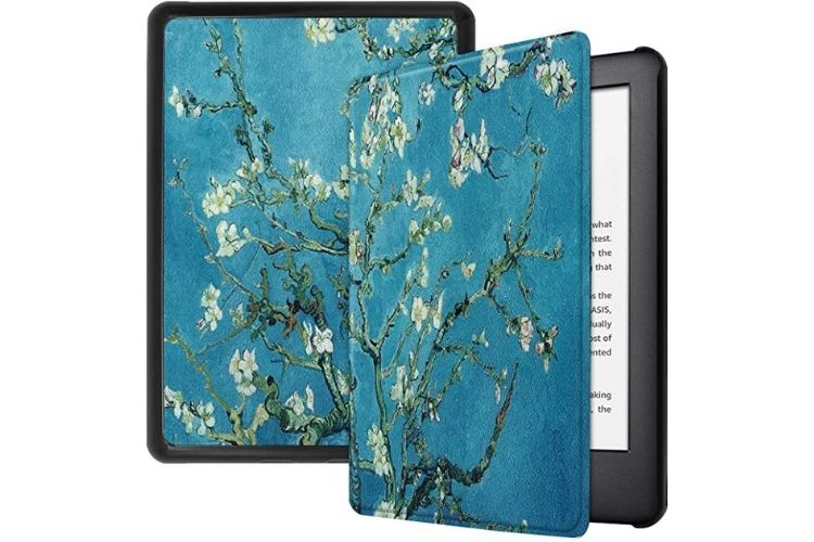 Capa kindle de flores