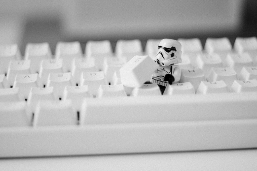 Presentes Para Nerds Stormtrooper Lego Teclado