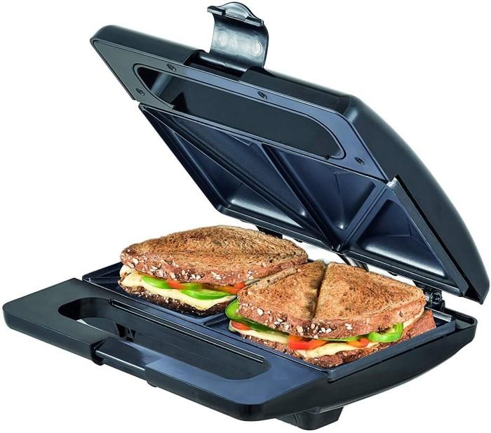 qual a melhor sanduicheira Sanduicheira SM 750 - Black+Decker